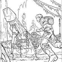 220x220 Luke Skywalker On Dagobah Coloring Pages