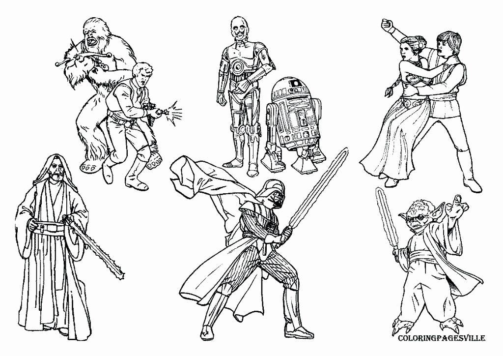 1024x724 Star Wars Luke Skywalker Coloring Pages New Star Wars Printable