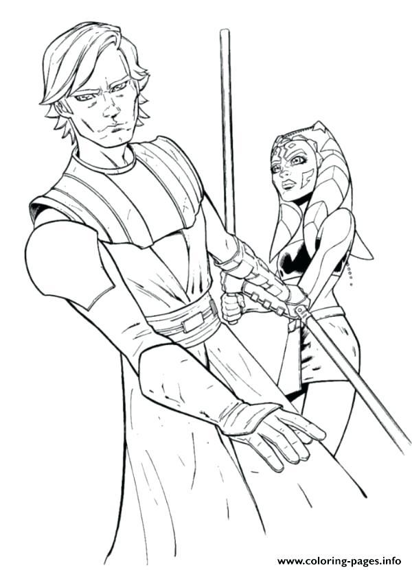 Star Wars Coloring Pages Obi Wan At GetDrawings