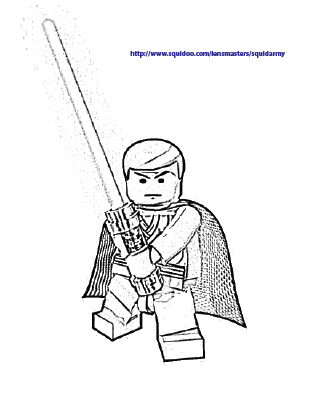 309x400 All About Lego Lego Star Wars Coloring Pages Obiwan Lego Star