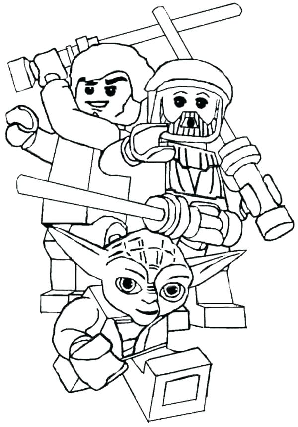 600x859 Star Wars Coloring Online Star Wars Coloring Pages To Print Star