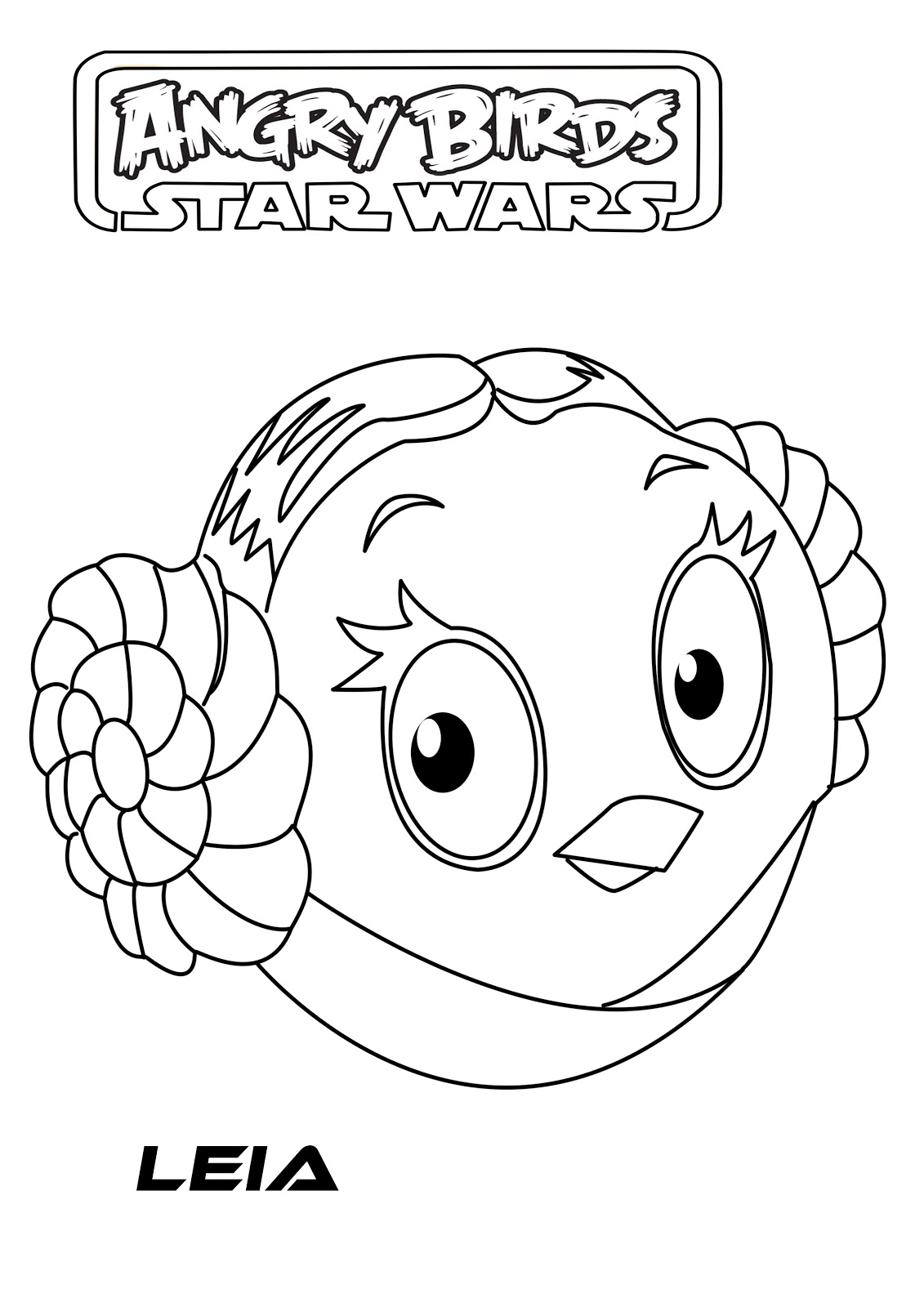 1131x1600 Angry Birds Star Wars Coloring Pages