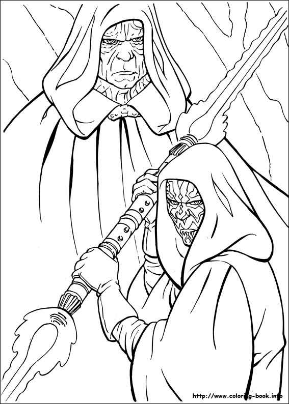 567x794 Starwars Coloring Pages
