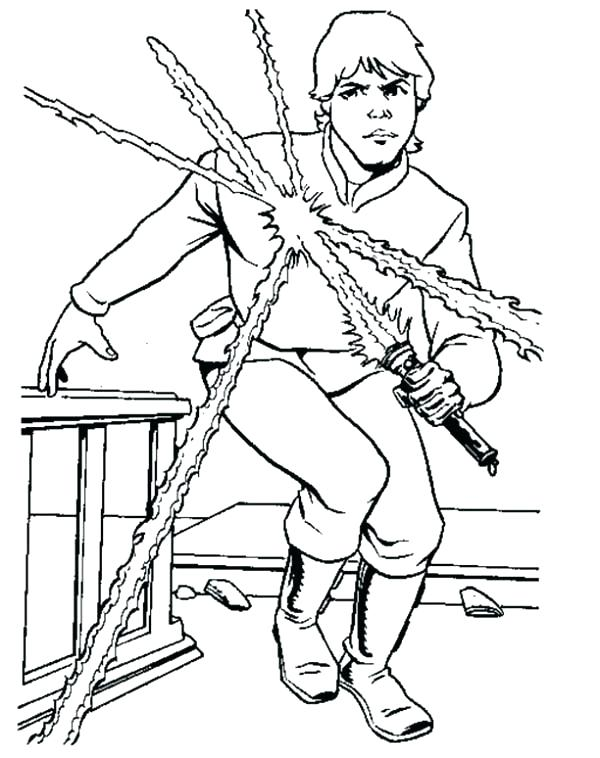 600x758 Princess Leia Coloring Pages