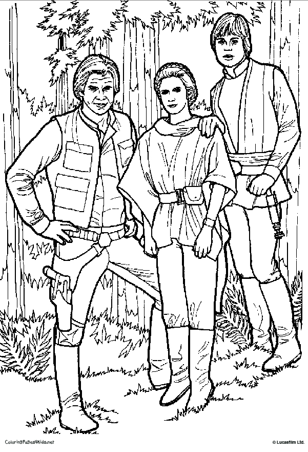 601x880 Star Wars Princess Leia Coloring Pages Princess Leia Coloring