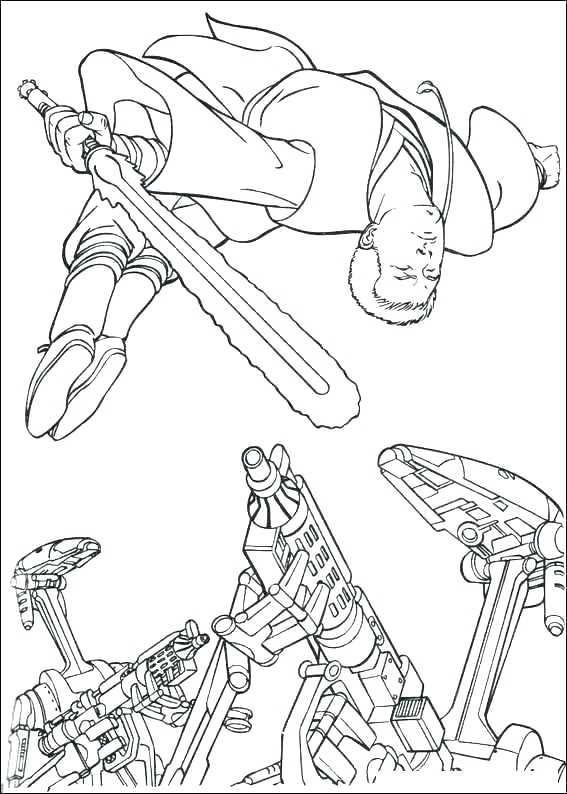 Star Wars Coloring Pages The Force Awakens