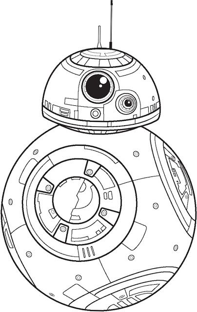 404x640 Polkadots On Parade Star Wars The Force Awakens Coloring Pages