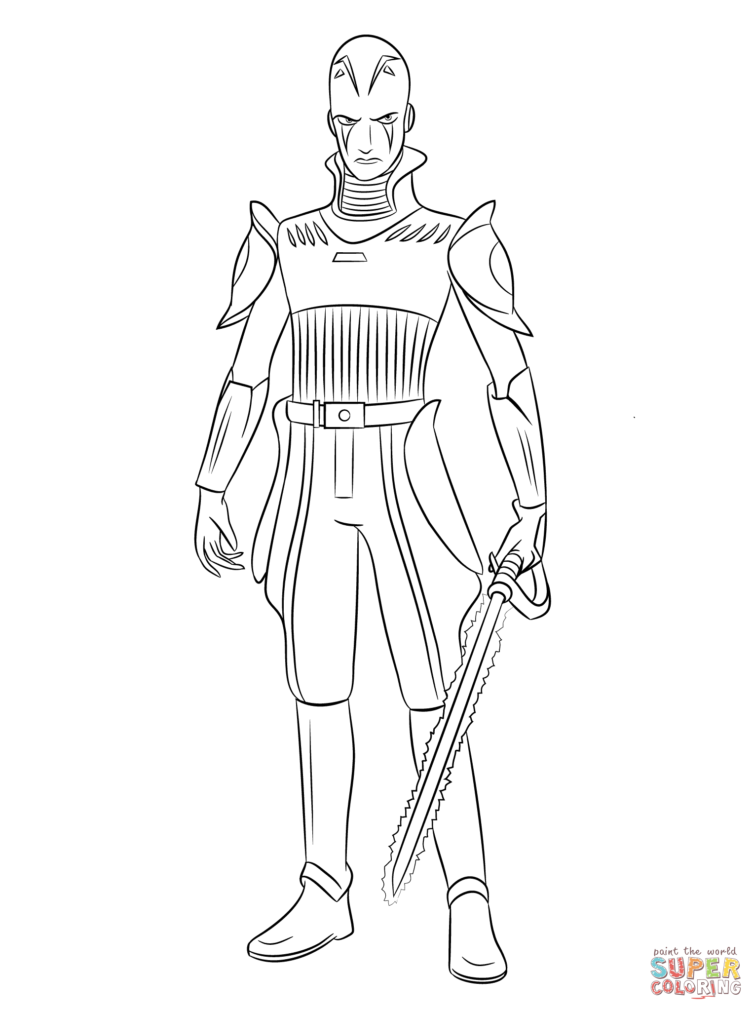 1526x2046 Star Wars The Force Awakens Coloring Pages