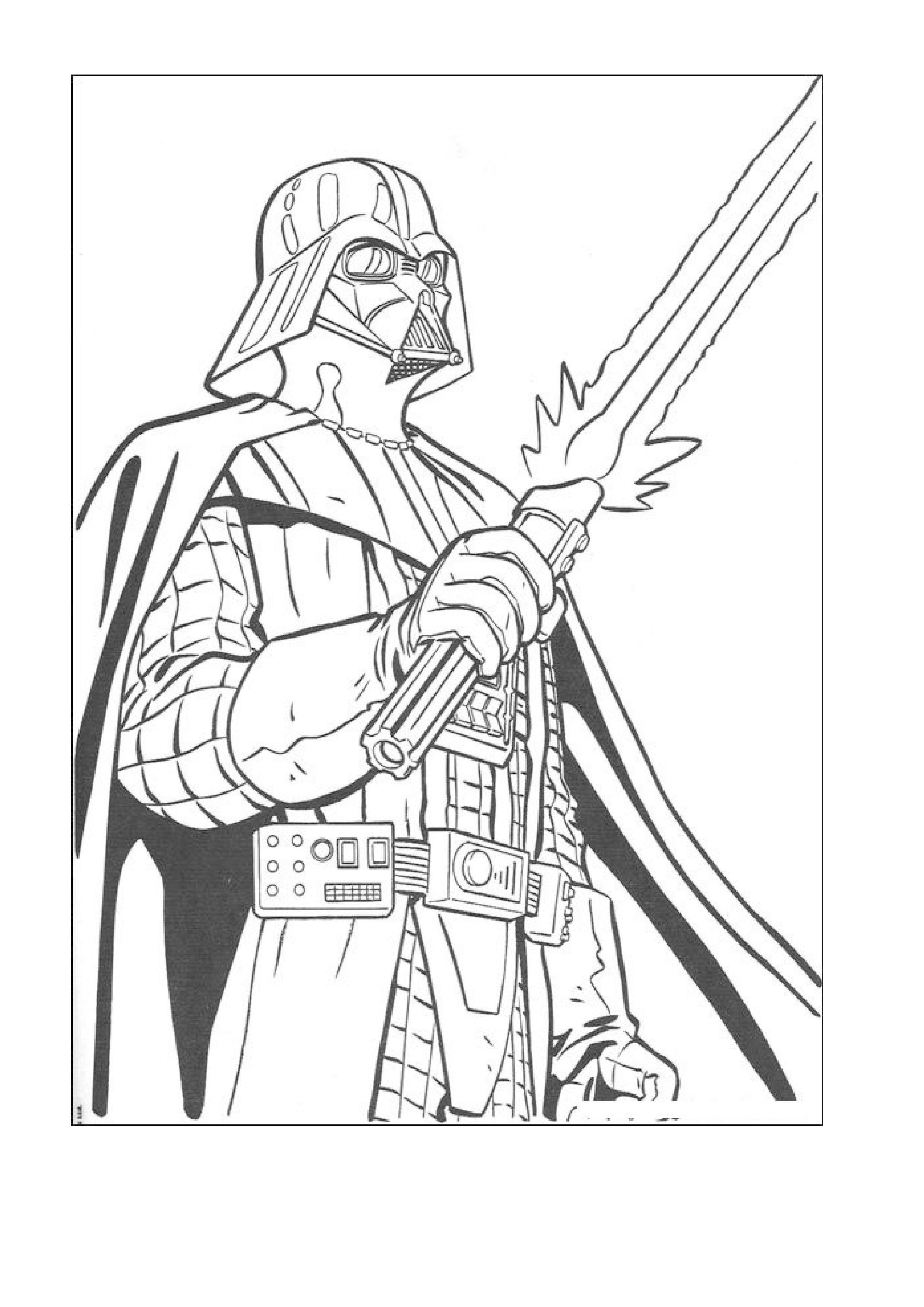 2480x3507 Lego Star Wars Darth Vader Coloring Pages Acpra