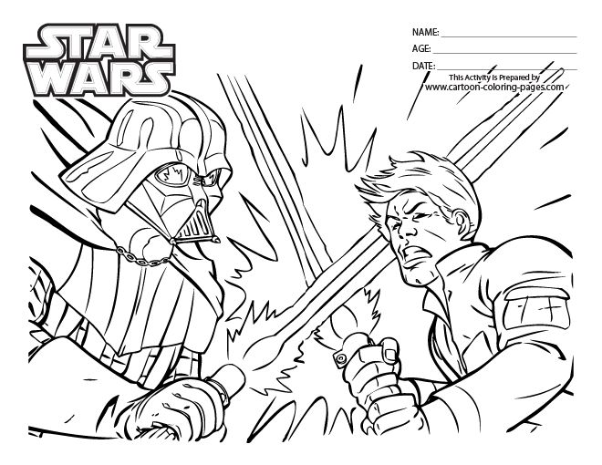660x510 Luke Skywalker Coloring Page Coloring Pages Online Free Coloring