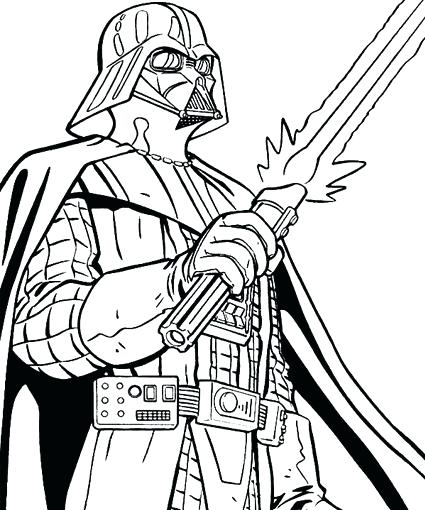425x510 Coloring Pages Print Color Craft Coloring Pictures Pages Star Wars