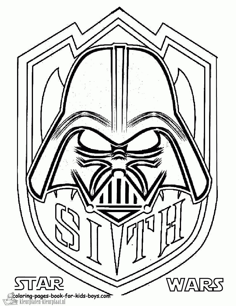 Kleurplaten Star Wars Yoda.Star Wars Darth Vader Coloring Pages At Getdrawings Com