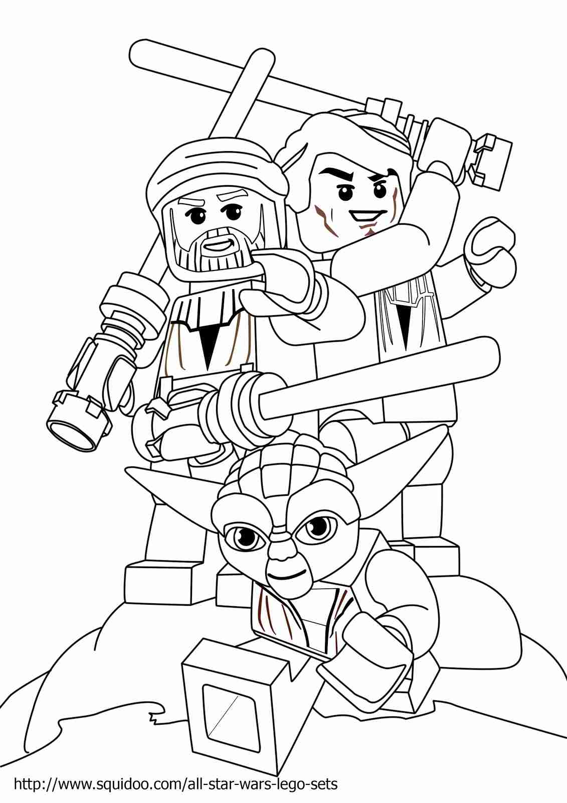 1131x1600 Lego Battle Droid Coloring Page Free Printable Pages Tearing Star