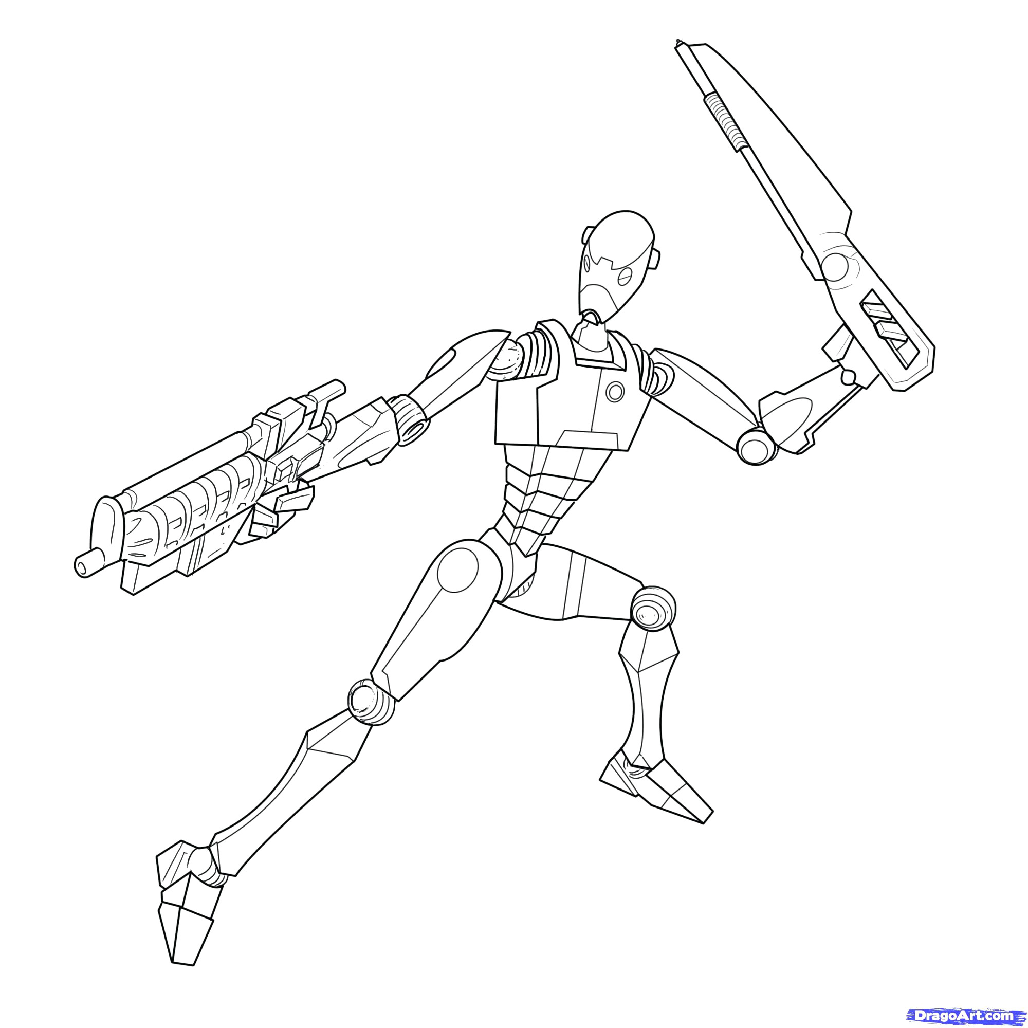 2000x2000 Pioneering Star Wars Droid Coloring Pages