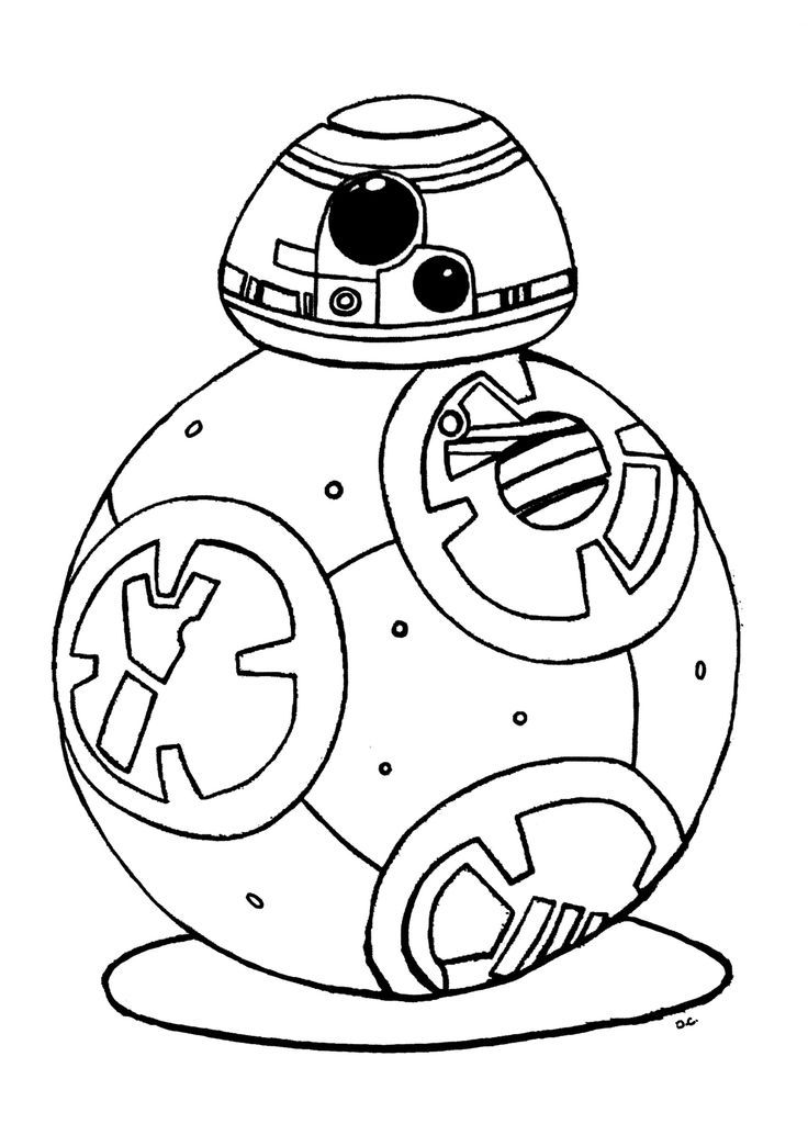 736x1034 Star Wars Coloring Silhouette