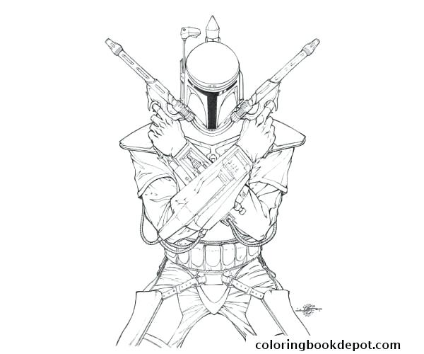 600x500 General Grievous Coloring Page Great Star Wars Coloring Pages