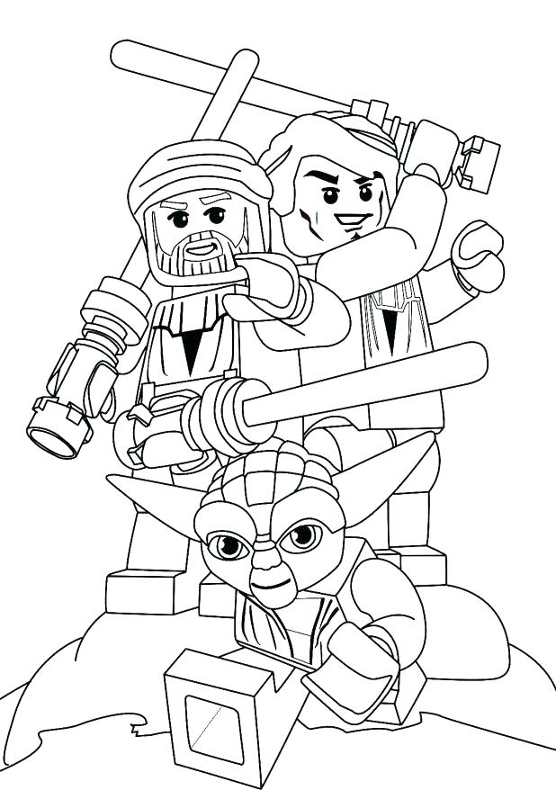 618x878 General Grievous Coloring Page Index Coloring Pages Lego General