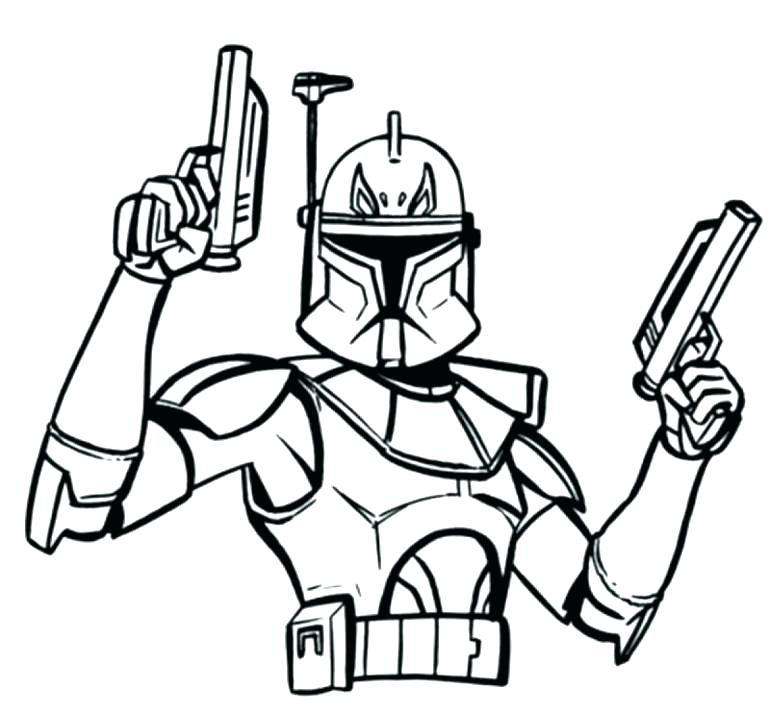 770x714 Star Wars Clone Coloring Pages Clone Wars Coloring Clone Wars