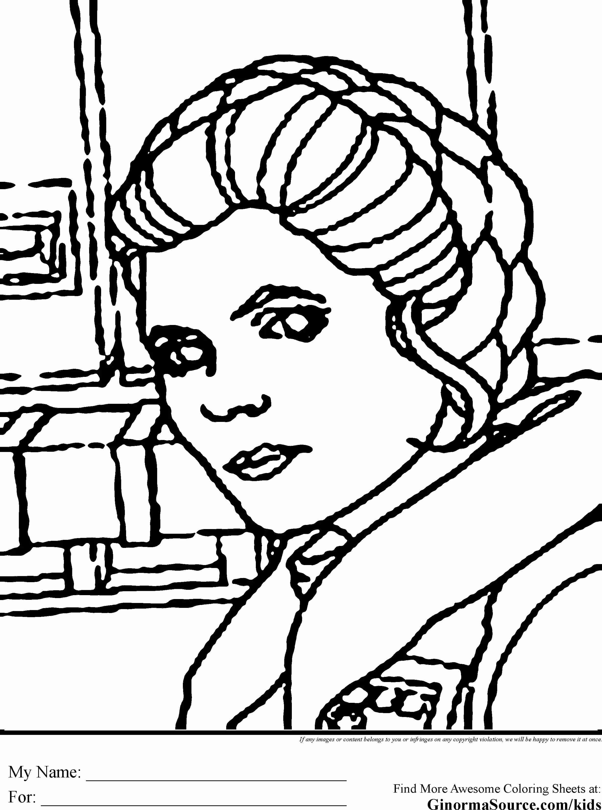2459x3310 Princess Leia Slave Star Wars Coloring Pages Sketch Page