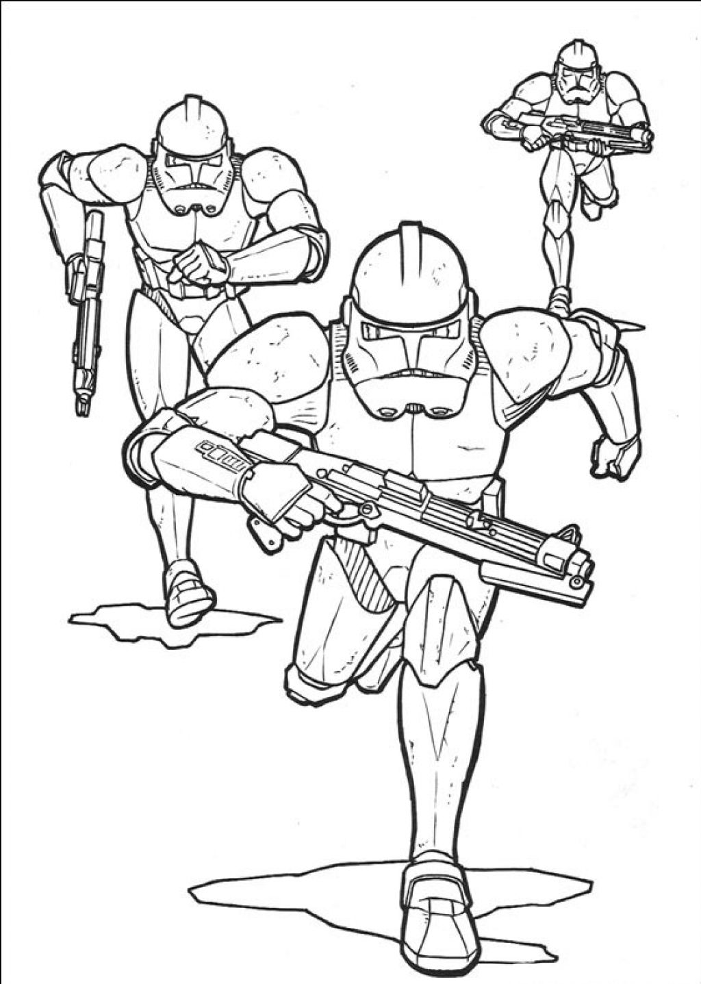 1024x1437 Star Wars Coloring Pages