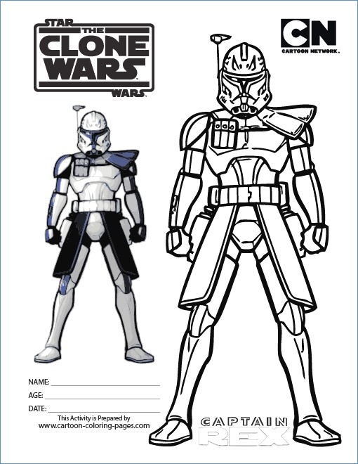 510x660 Star Wars Coloring Pages Clone Troopers