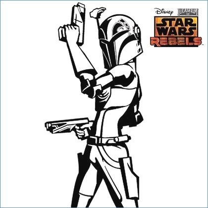 420x420 Star Wars Coloring Pages Ewok
