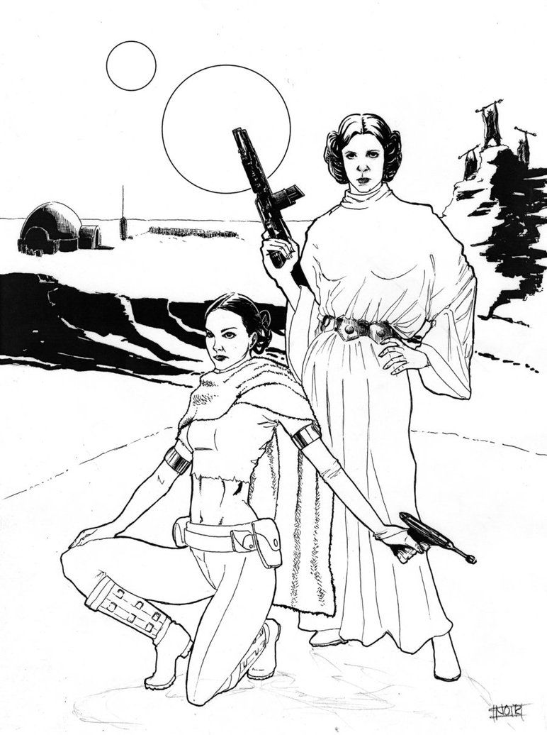 772x1036 Star Wars Leia And Padme