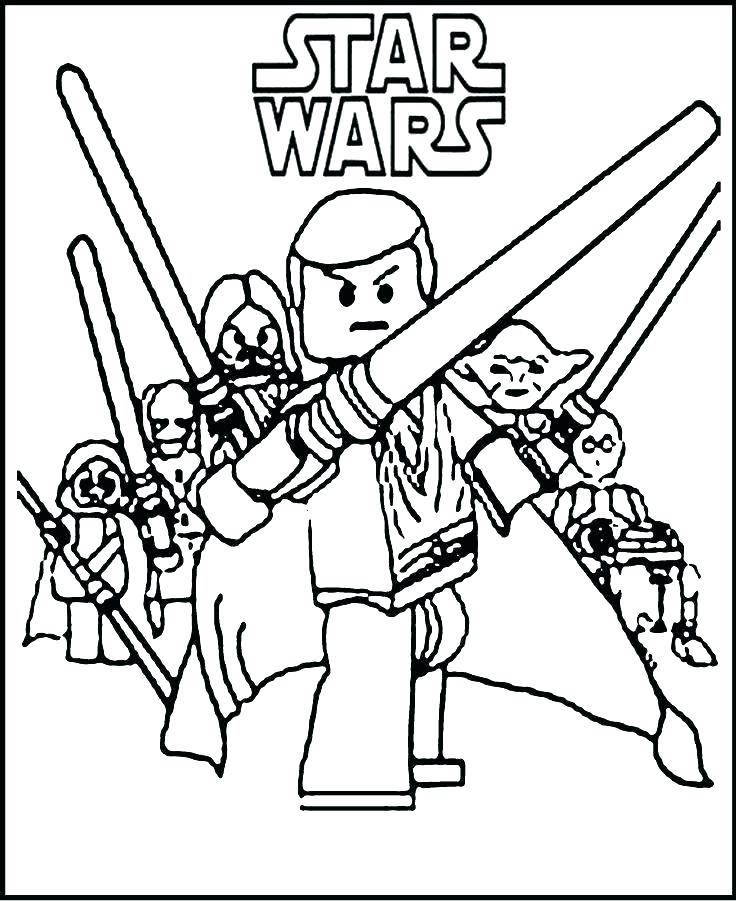 736x901 Star Wars Coloring Pages To Print Ignite Your Creativity With Star