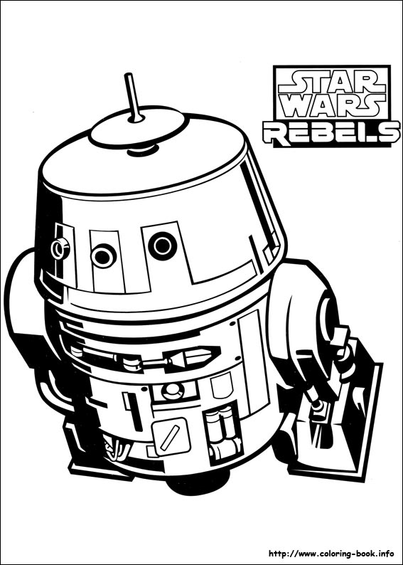 567x794 Star Wars Rebels Coloring Pages On Coloring