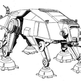 268x268 Coloring Pages Star Wars Ships Archives