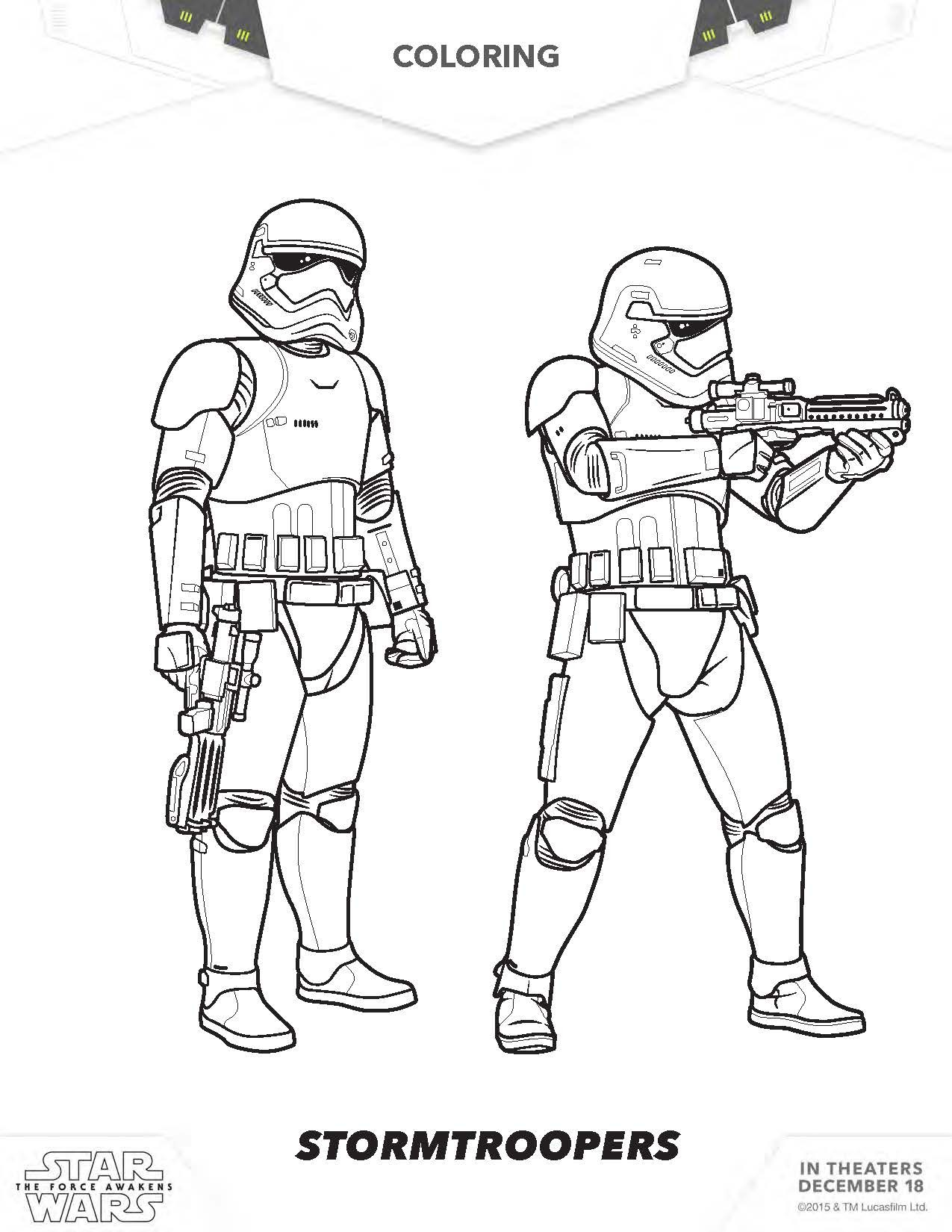 1275x1650 Lovely Stormtrooper Coloring Page Advance