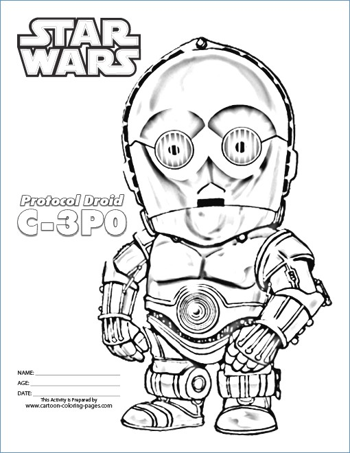 510x660 Star Wars Coloring Pages Stormtrooper