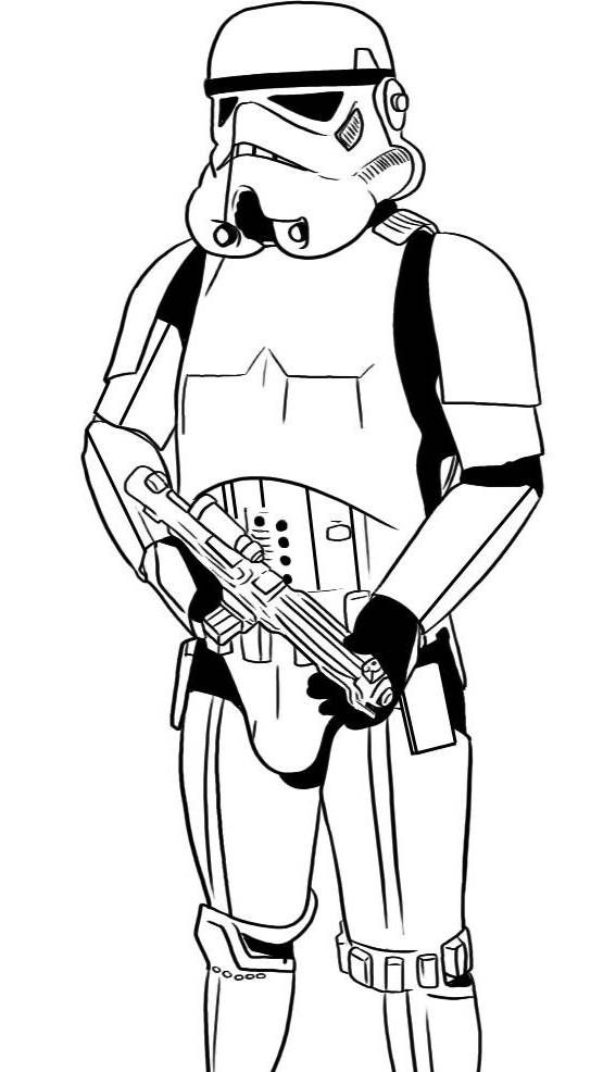 555x986 Stormtrooper Coloring Page Star Wars Party