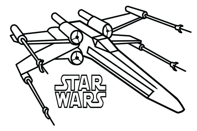 665x443 Star Wars X Wing Coloring Pages Wing Coloring Pages Star Wars X