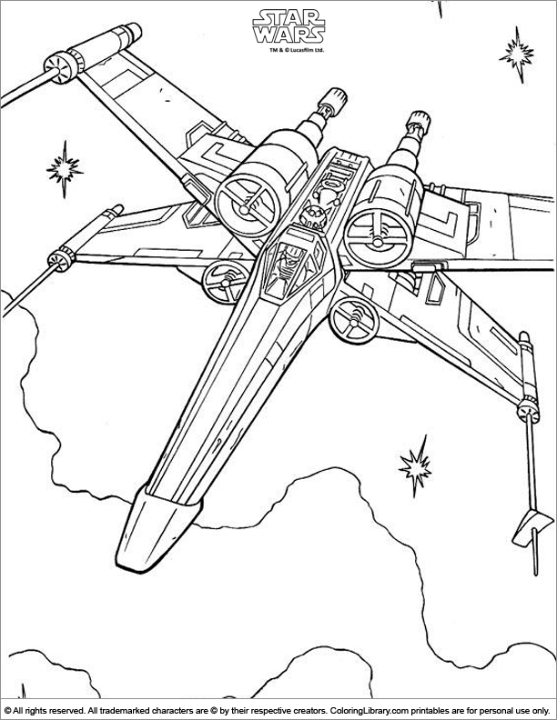 612x792 Star Wars Coloring Page Star Wars Star And Star