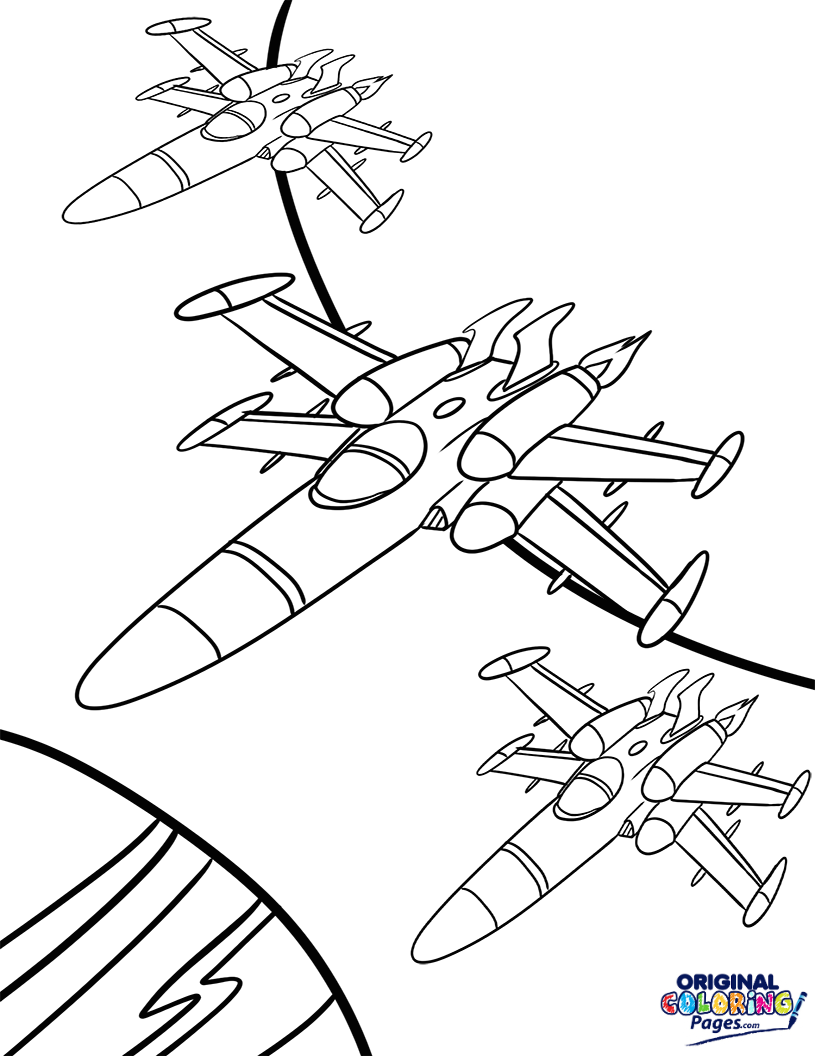 815x1056 X Wing Star Wars Coloring Page Coloring Pages Original