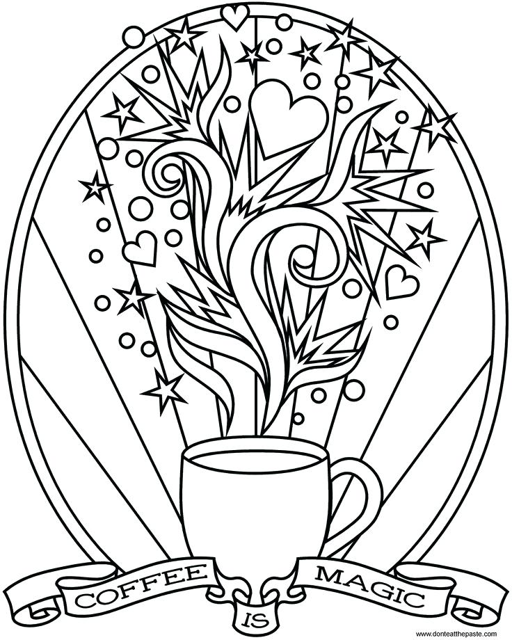 736x920 Starbucks Cup Coloring Page Cup Templates Coloring Pages For Kids