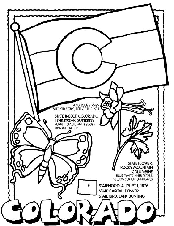 586x762 Smart Idea State Coloring Pages Best States Images