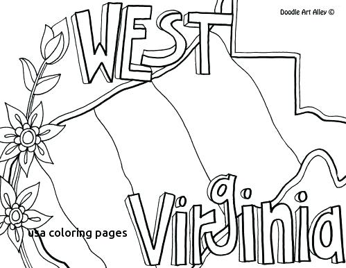 499x386 States Coloring Pages State Bird Coloring Page Pictures State