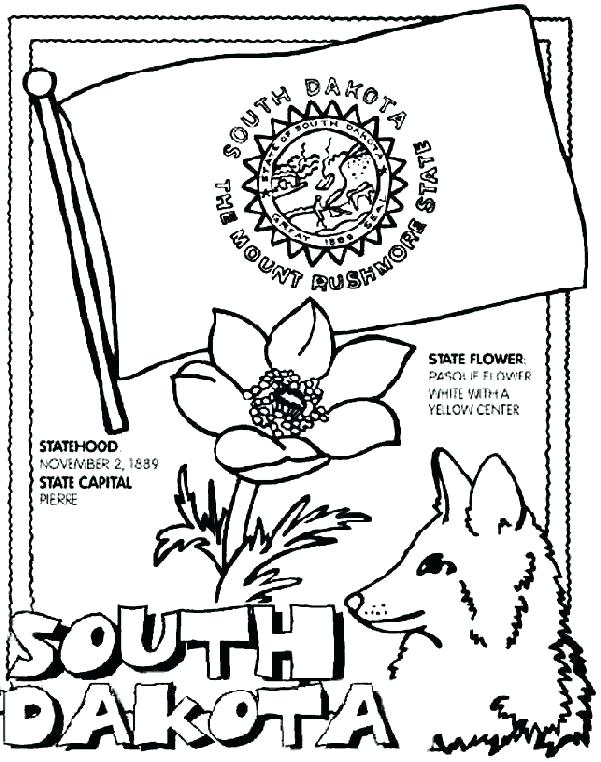 601x762 Washington State Coloring Pages