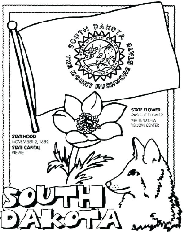 601x762 Arkansas Coloring Pages State Bird And Flower Coloring Pages