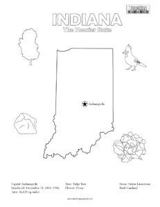 231x299 Tennessee Coloring Page And State Facts Teaching Squared
