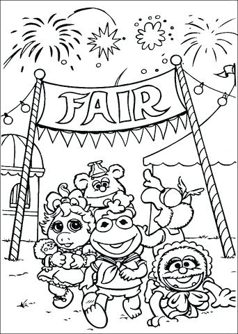 342x480 Fair Coloring Pages County Fair Coloring Pages County Fair
