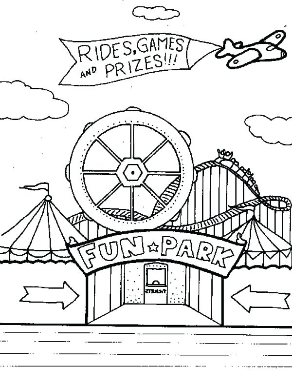 600x793 Fair Coloring Pages Download Large Image State Fair Coloring