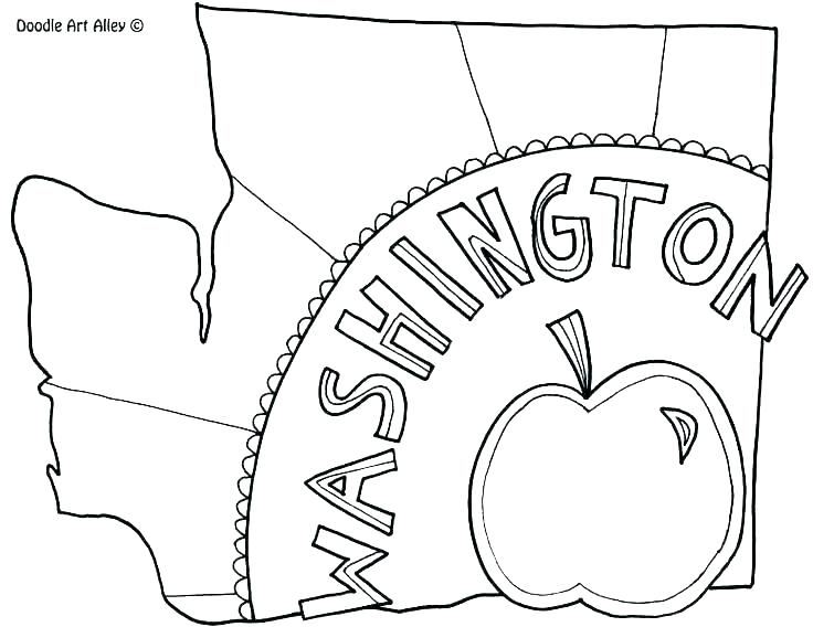 736x568 State Coloring Pages Quarter Coloring Pages Michigan State Flag