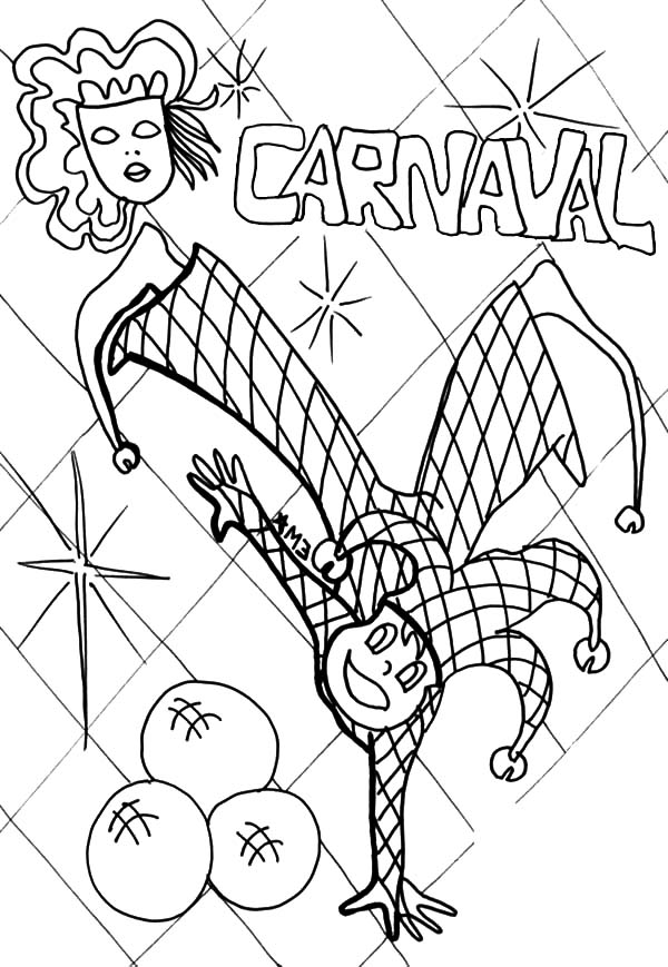 600x869 State Fair Carnival Coloring Pages Best Place To Color