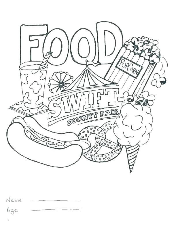 618x800 Fair Coloring Pages