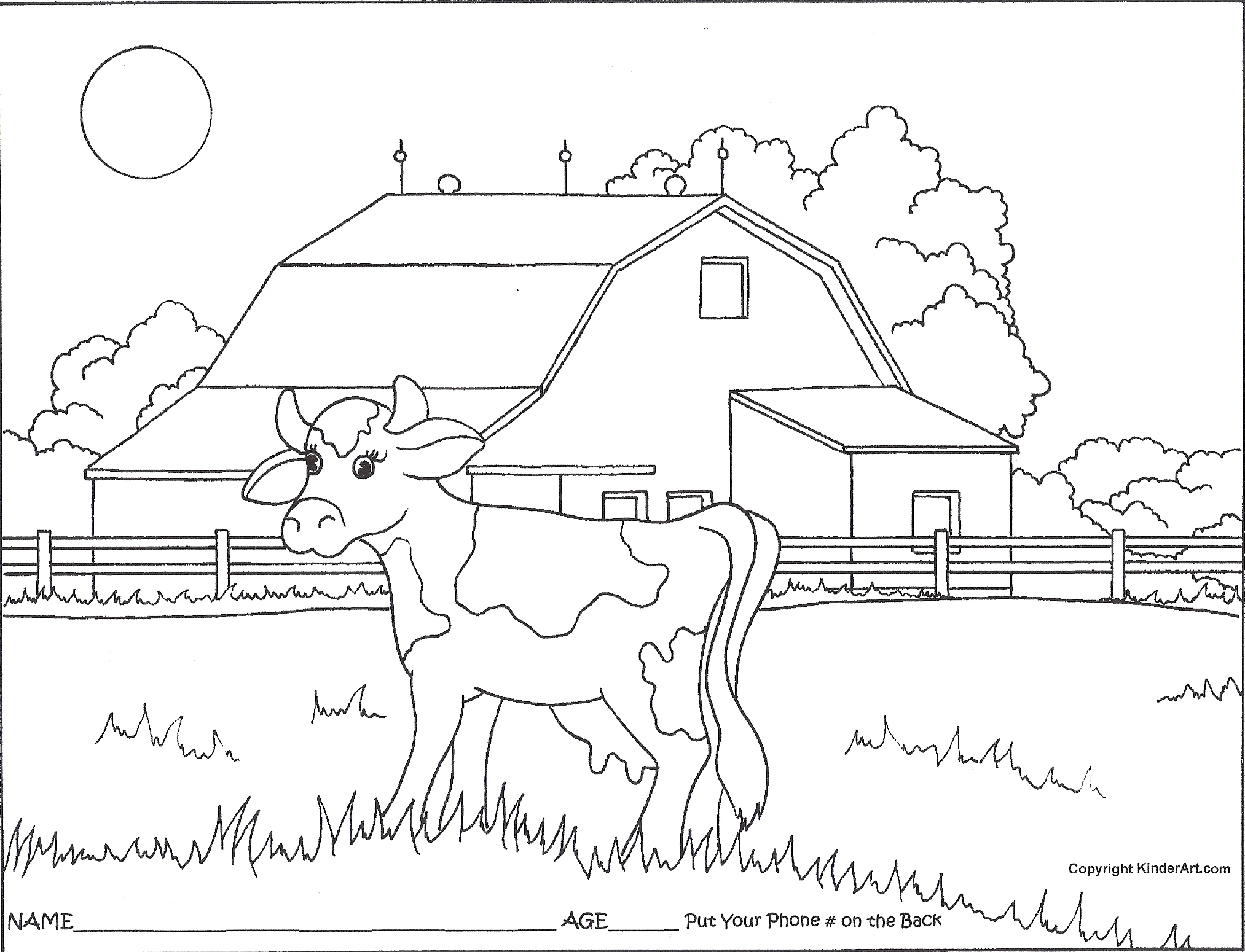 2026x1550 County Fair Coloring Pages