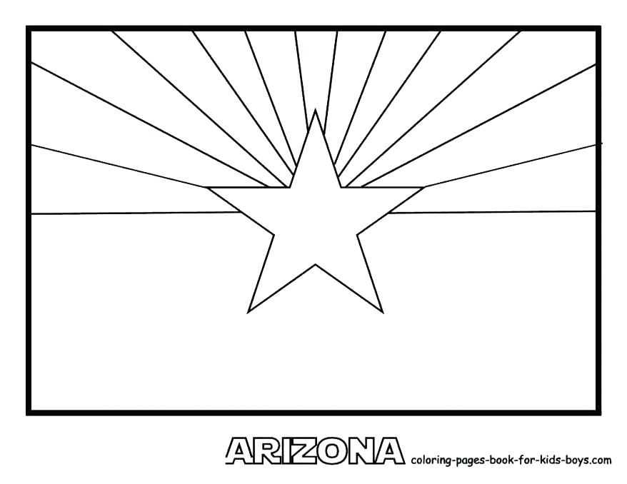 878x678 Minnesota State Flag Coloring Page Best Coloring Page Of Flag