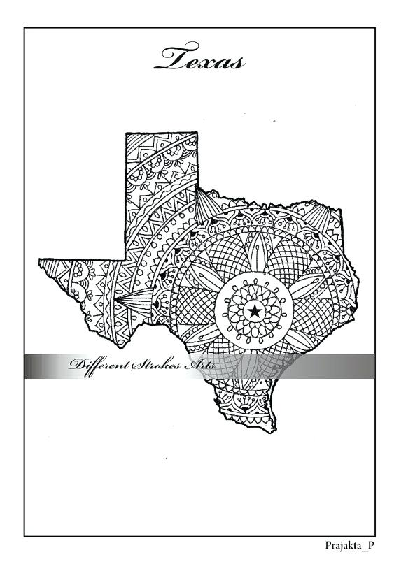 570x807 Texas Coloring Page Texas State Flower Coloring Page